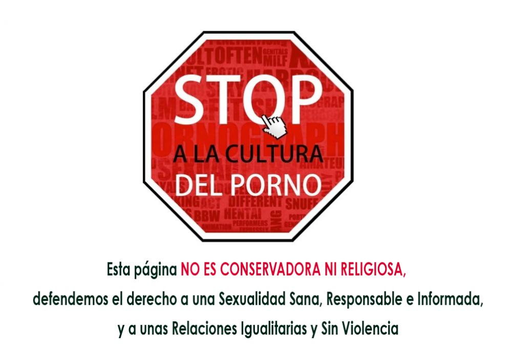 Stop a la Cultura del Porno