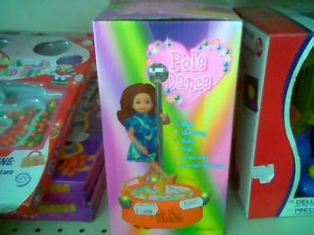 Juguetes sexualizados para niñas