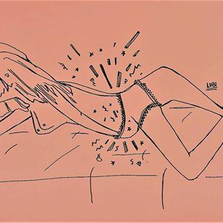🌸 Clítoris y cunnilingus 🌸 ¿Por qué no hay palabras sucias para nosotras? 🤔 ➡ PUNTO G (CON G DE GÉNERO), por Lilian.  Ilustra @lu.blnc - Link en bio.